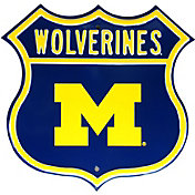 Authentic Street Signs Michigan Wolverines Route Sign