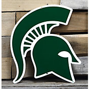 Authentic Street Signs Michigan State Spartans Steel Logo Sign