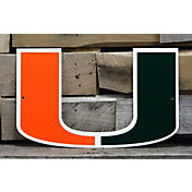 Authentic Street Signs Miami Hurricanes Steel Logo Sign