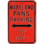Authentic Street Signs Maryland Terrapins Parking Sign
