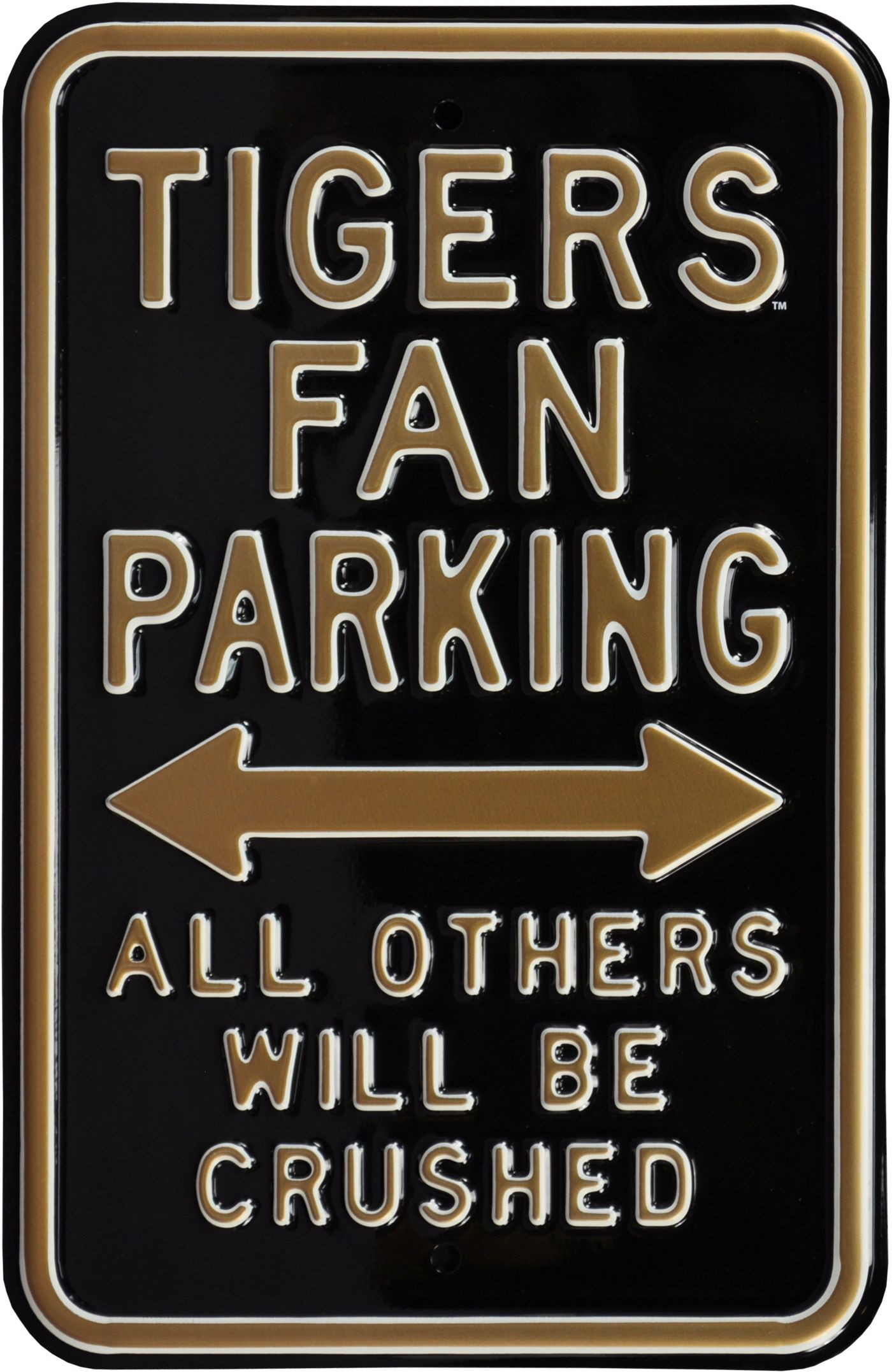 Authentic Street Signs Missouri Tigers Parking Sign