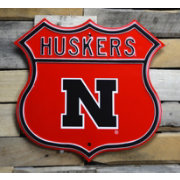 Authentic Street Signs Nebraska Cornhuskers Route Sign