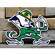 Authentic Street Signs Notre Dame Fighting Irish Steel Mascot Sign