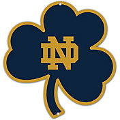 Authentic Street Signs Notre Dame Fighting Irish Steel Logo Sign