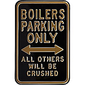 Authentic Street Signs Purdue Boilermakers Parking Sign