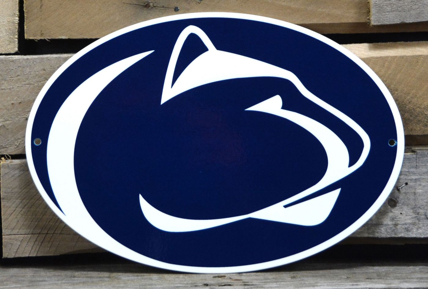 Authentic Street Signs Penn State Nittany Lions Steel Logo Sign