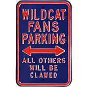 Authentic Street Signs Arizona Wildcats Parking Sign
