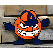 Authentic Street Signs Syracuse Orange Steel Mascot Sign
