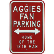 Authentic Street Signs Texas A&M Aggies Parking Sign