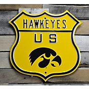 Authentic Street Signs Iowa Hawkeyes Parking Sign