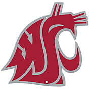Authentic Street Signs Washington State Cougars Steel Logo Sign