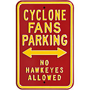 Authentic Street Signs Iowa State Cyclones Parking Sign