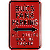 Authentic Street Signs Tampa Bay Bucaneers Parking Sign