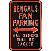 Authentic Street Signs Cincinnati Bengals Parking Sign