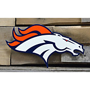 Authentic Street Signs Denver Broncos Steel Logo Sign