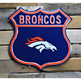 Authentic Street Signs Denver Broncos Route Sign