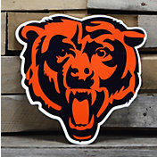 Authentic Street Signs Chicago Bears Steel Logo Sign