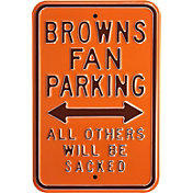 Authentic Street Signs Cleveland Browns Parking Sign