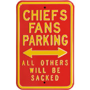 Authentic Street Signs Kansas City Chiefs Parking Sign