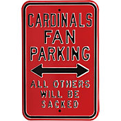 Authentic Street Signs Arizona Cardinals Parking Sign