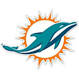 Authentic Street Signs Miami Dolphins Steel Logo Sign