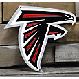 Authentic Street Signs Atlanta Falcons Steel Logo Sign