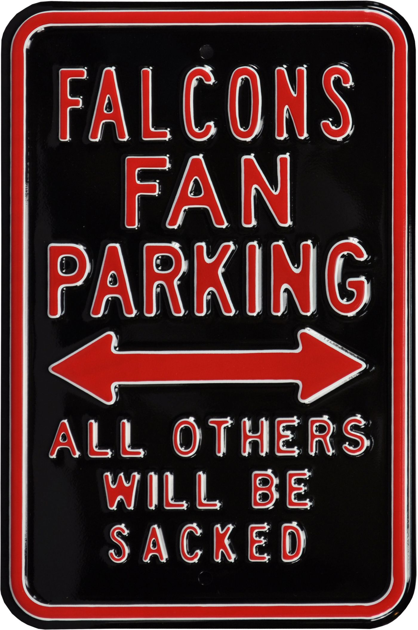 Authentic Street Signs Atlanta Falcons Parking Sign