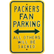 Authentic Street Signs Green Bay Packers Parking Sign