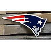 Authentic Street Signs New England Patriots Steel Logo Sign