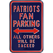 Authentic Street Signs New England Patriots Parking Sign