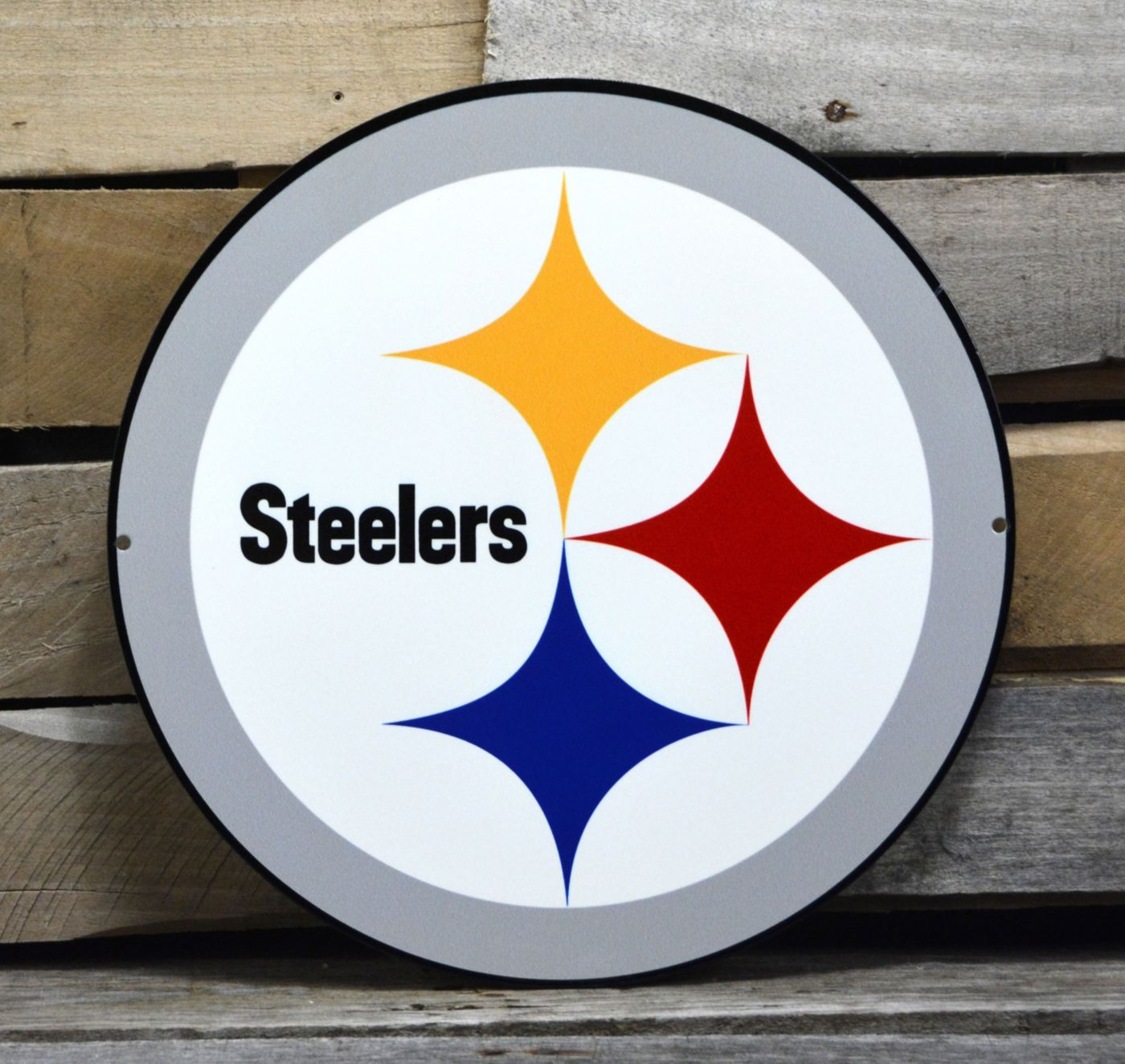 Authentic Street Signs Pittsburgh Steelers Steel Logo Sign