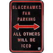 Authentic Street Signs Chicago Blackhawks Parking Sign