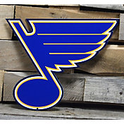 Authentic Street Signs St. Louis Blues Steel Logo Sign