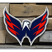 Authentic Street Signs Washington Capitals Steel Mascot Sign