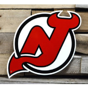 Authentic Street Signs New Jersey Devils Steel Logo Sign