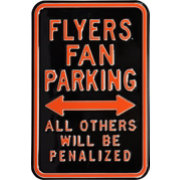 Authentic Street Signs Philadelphia Flyers Parking Sign