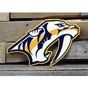 Authentic Street Signs Nashville Predators Steel Logo Sign