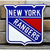 Authentic Street Signs New York Rangers Steel Logo Sign