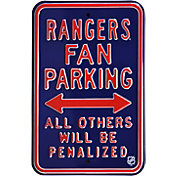 Authentic Street Signs New York Rangers Parking Sign