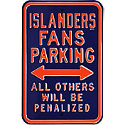 Authentic Street Signs New York Islanders Parking Sign