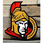 Authentic Street Signs Ottawa Senators Steel Logo Sign