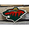 Authentic Street Signs Minnesota Wild Steel Logo Sign