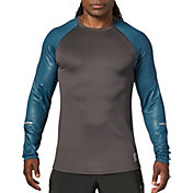 SECOND SKIN Men's Long Sleeve Printed Training Top
