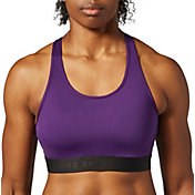 SECOND SKIN Women's QUATROFLX Skinny Racerback Compression Sports Bra