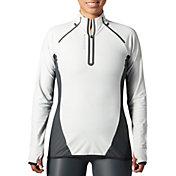 SECOND SKIN Women's 1/4 Zip Long Sleeve Training Top