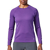 SECOND SKIN Women's Textured Long Sleeve Training Top
