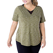 Rainbeau Curves Women's Lise Plus Size T-Shirt