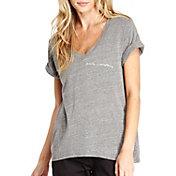good hYOUman Women's Aiden Family Graphic V-Neck T-Shirt