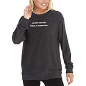 good hYOUman Women's Dave Graphic Crewneck Pullover