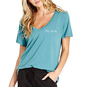 good hYOUman Women's Aiden Love Yourself V-Neck T-Shirt